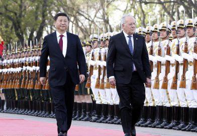 China socialista en vía de asumir el liderazgo a nivel internacional