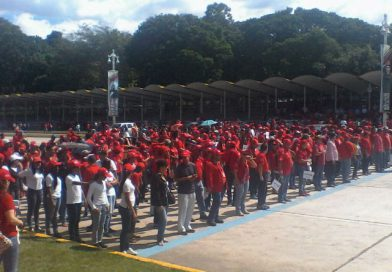 Trabajadores y Trabajadoras del MPPPST participaron en la Acción Antiimperialista Zamora 200