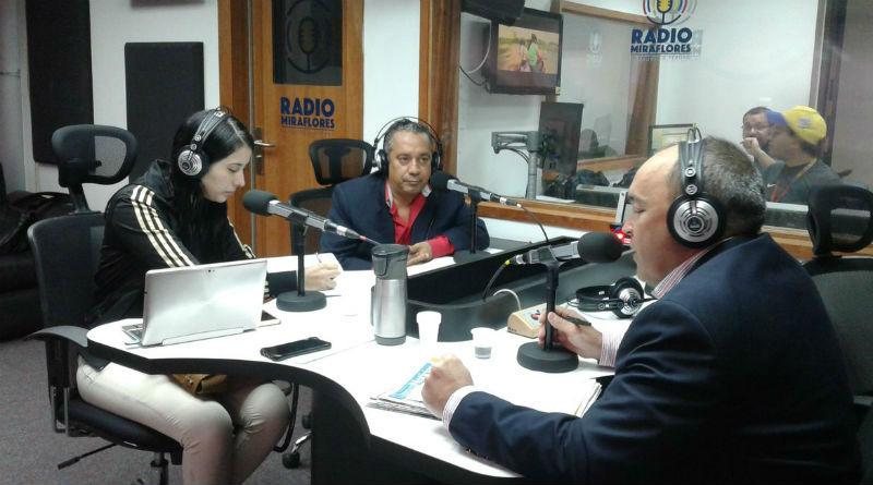 Ministro Torrealba Programa de Radio