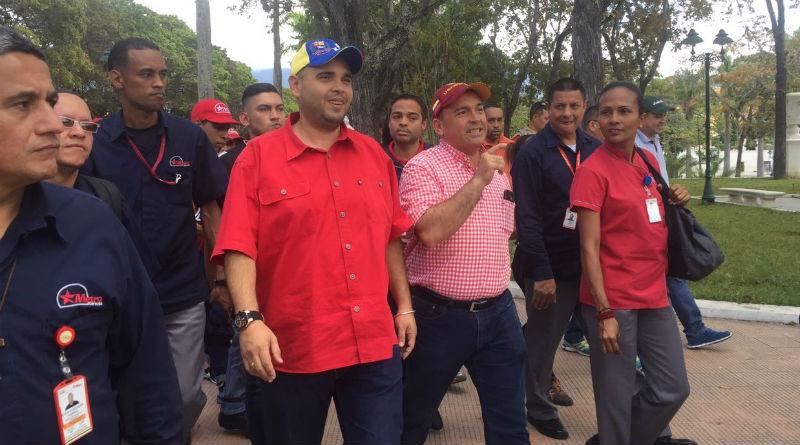 Ministro Torrealba antiimperialista