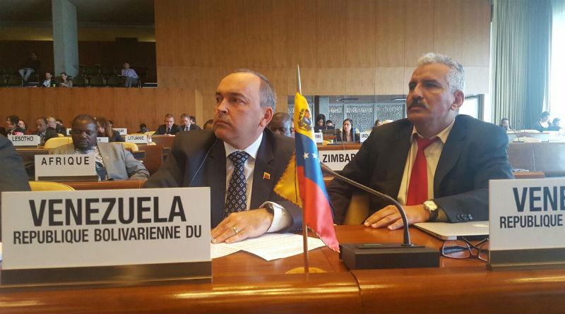 Ministro Francisco Torrealba ratifica vigencia de los derechos de la Clase Obrera venezolana en la OIT