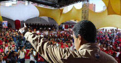 Presidente Maduro juramentó a miembros del Estado Mayor Obrero