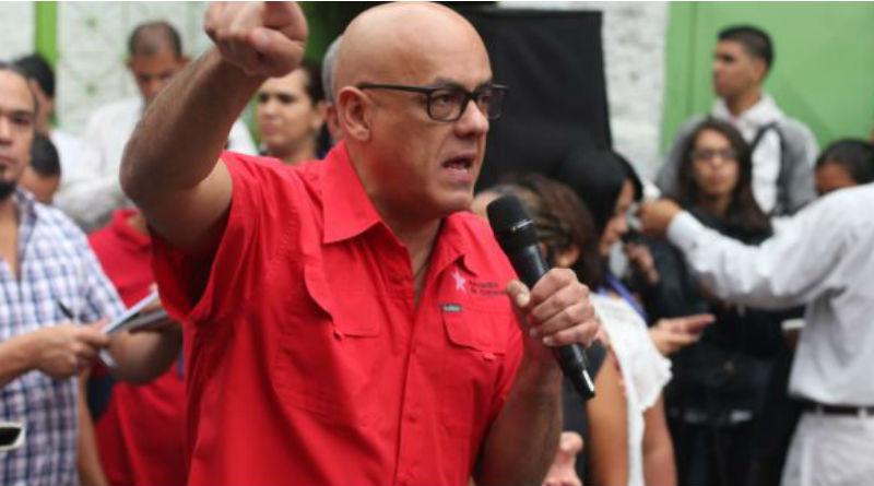 Jorge Rodríguez: El pueblo tiene que sellar la paz en las elecciones regionales