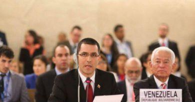 Venezuela exige a Comisionado de los DDHH de la ONU cesar agresiones a través de falsos informes