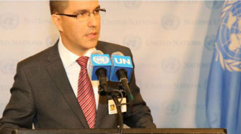 Canciller Arreaza: EEUU viola todos los principios de la ONU