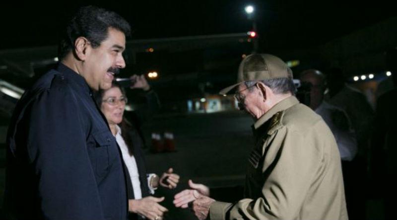 Presidente Maduro llegó a Cuba para ratificar solidaridad tras paso del huracán Irma