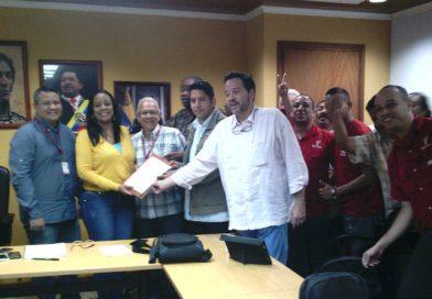 Presentan proyecto de Convención Colectiva del Ministerio del Poder Popular para Hábitat y Vivienda