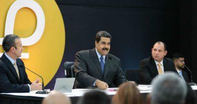 Maduro: El Petro anuncia un nuevo tiempo económico para Venezuela