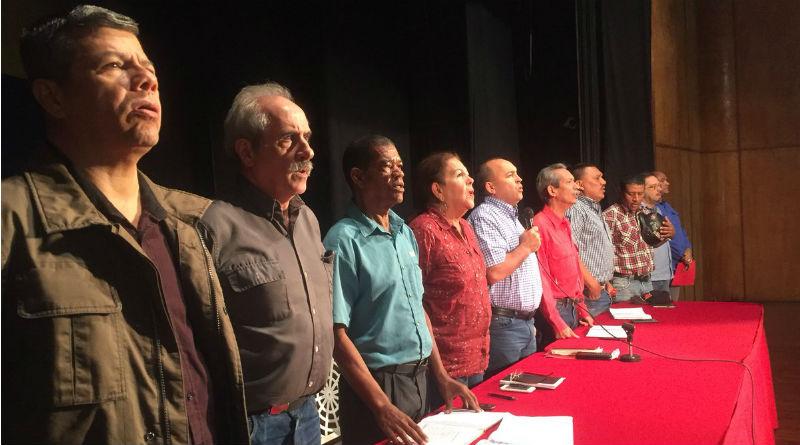 Juramentado comando de campaña de la clase obrera de Vargas, Caracas y Miranda