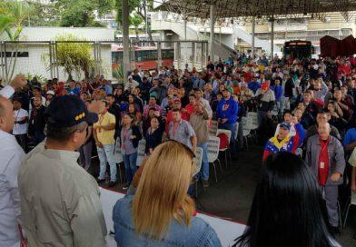 Juramentado comando de campaña de la clase obrera del Metro de Caracas