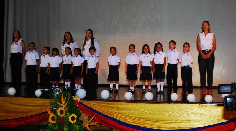 Emotivo y hermoso acto de promoción presentó la guardería infantil del MPPPST