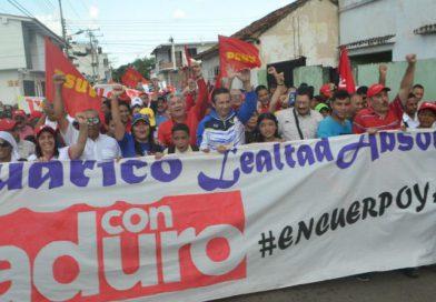Eduardo Piñate ratificó lealtad absoluta a la Revolución Bolivariana en Guárico