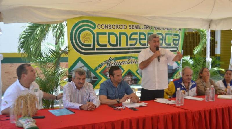 Ministro Eduardo Piñate impulsa producción en Guárico con los CPT