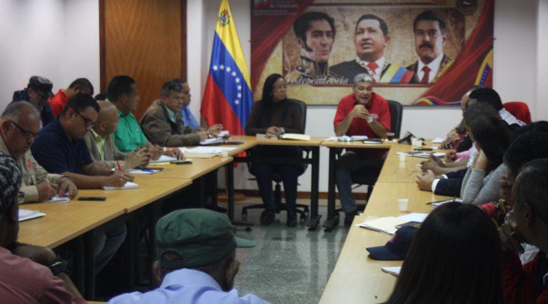 Ministro Eduardo Piñate se reúne con la CBST