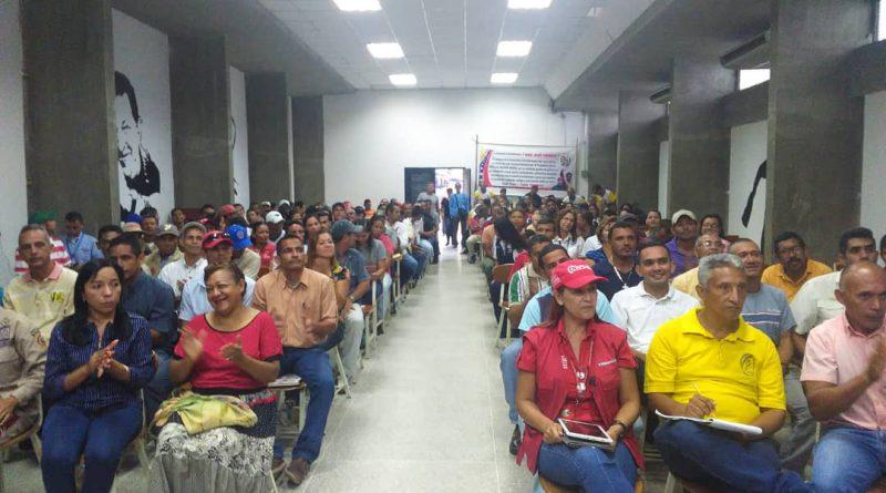 Logrado Congreso Constituyente de Trabajadores y Trabajadores en Vargas, Cojedes y Falcón