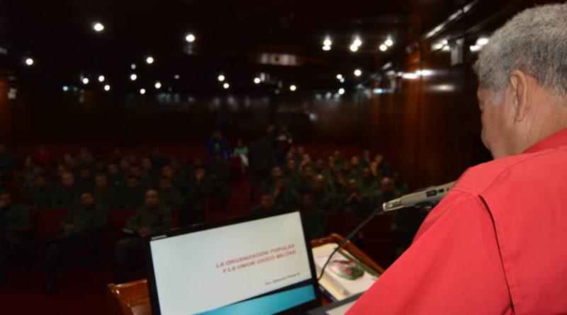 Unión Cívico Militar es la Gran Fortaleza de la Revolución Bolivariana