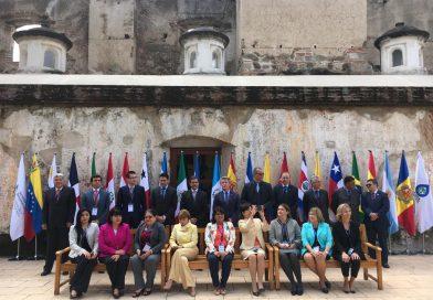 Guatemala: Ministro Eduardo Piñate participa en la X Conferencia Iberoamericana