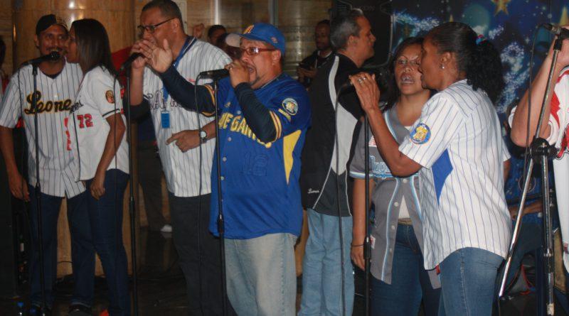 Trabajadores del Mpppst  disfrutaron de gaitas venezolanas