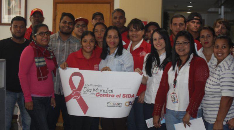 Trabajadores del Mpppst recibieron charla informativa sobre el VIH/SIDA
