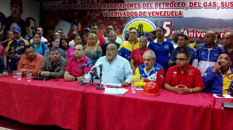 Central Bolivariana Socialista de Trabajadores ratificó apoyo al Programa de Recuperación Económica