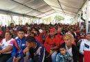 En apoyo al presidente Nicolás Maduro: Clase Trabajadora del Mpppst realizó vigilia desde el Palacio de Miraflores