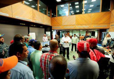 Presidente Maduro felicitó a la Clase Obrera de la industria eléctrica