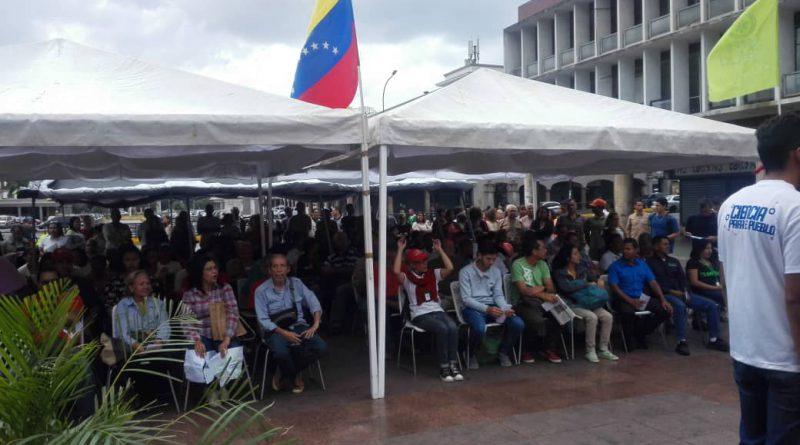 Trabajadores del Mpppst participaron en tribuna antiimperialista