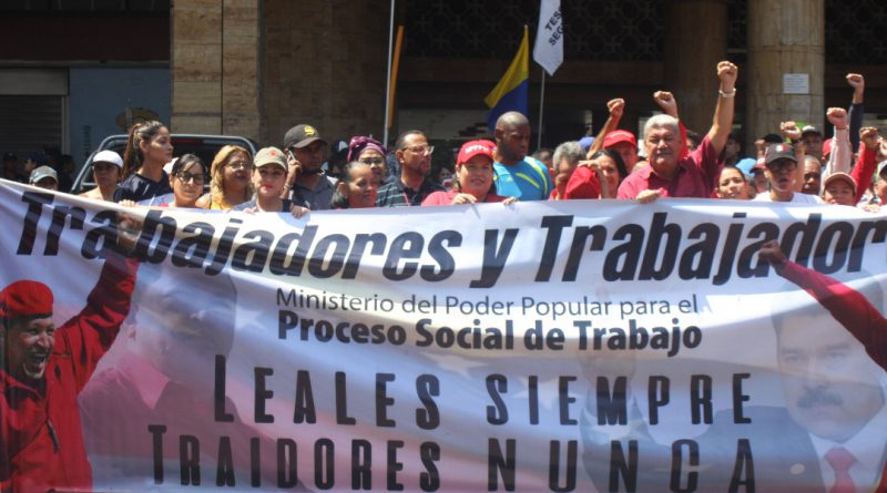 Pueblo trabajador celebró la derrota del golpe eléctrico