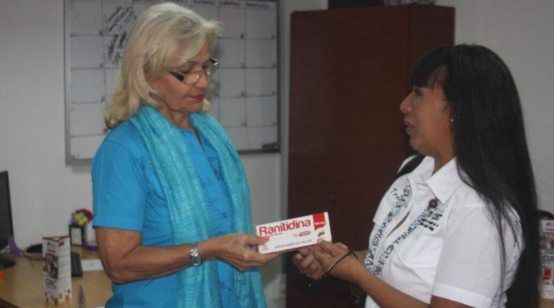 Oficina de Atención al Ciudadano benefició con medicamentos a 37 trabajadores del Mpppst