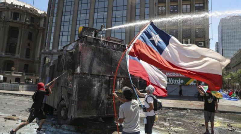 Piñera no puede frenar la protesta en Chile