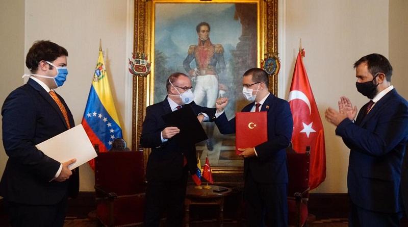 Venezuela y Turquía profundizan relaciones bilaterales tras firmar Tratado de Desarrollo Comercial