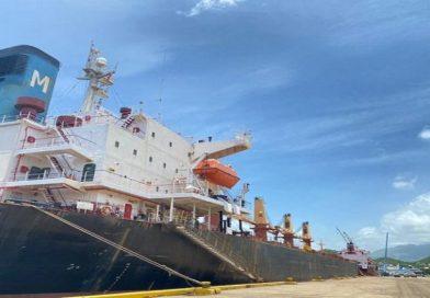 Desde Puerto de Guanta  Bolipuertos despacha más de 11 mil toneladas de aluminio y material diverso para exportación